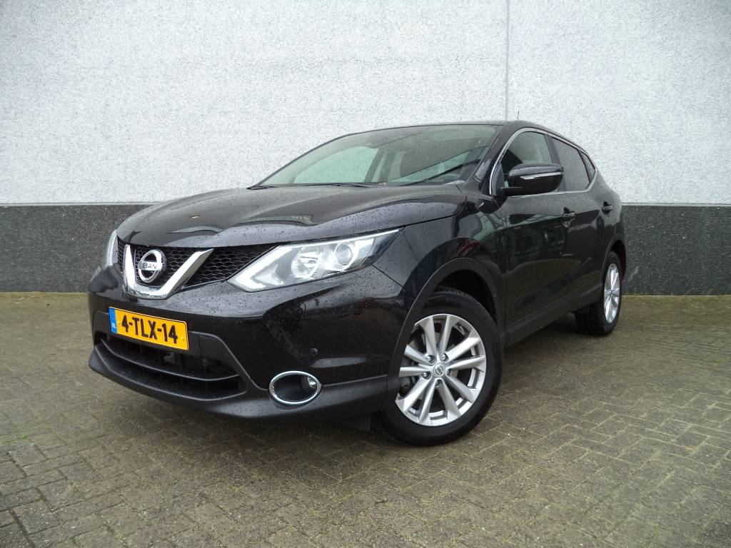 nissan qashqai 1 2 connect edition benzine 2014